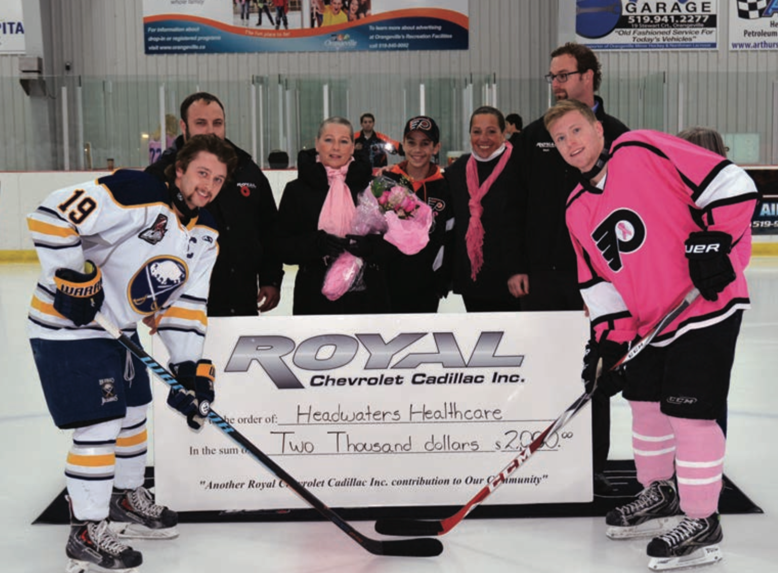 Flyers host annual Pink in the Rink  47859e848