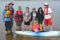 READY SET WEAR IT is a worldwide event to break to record for number of people and dogs wearing personal floatation devices on the same day. Taking part in the event, a collection of local residents gather for a day of paddling at the Island Lake Conservation Area on May 21.